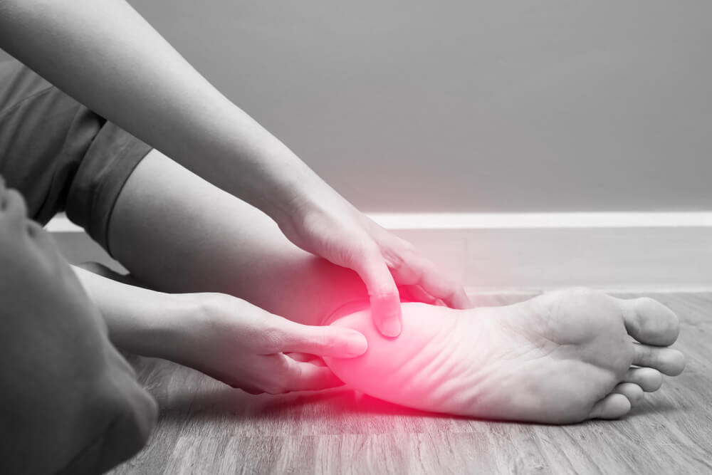 Plantar Fasciitis showing the concept of Services